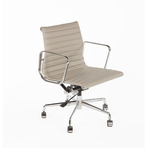 [FZC1022GREY] The Mid-Century Leather Executive Office Chair sale