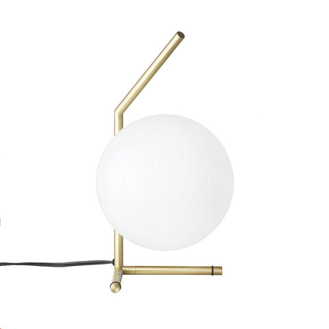 [LM564TBRSWHT] Iskall Low Table Lamp