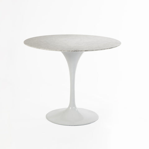 [RT335R30WHT] The Marble Tulip Dining Table 30