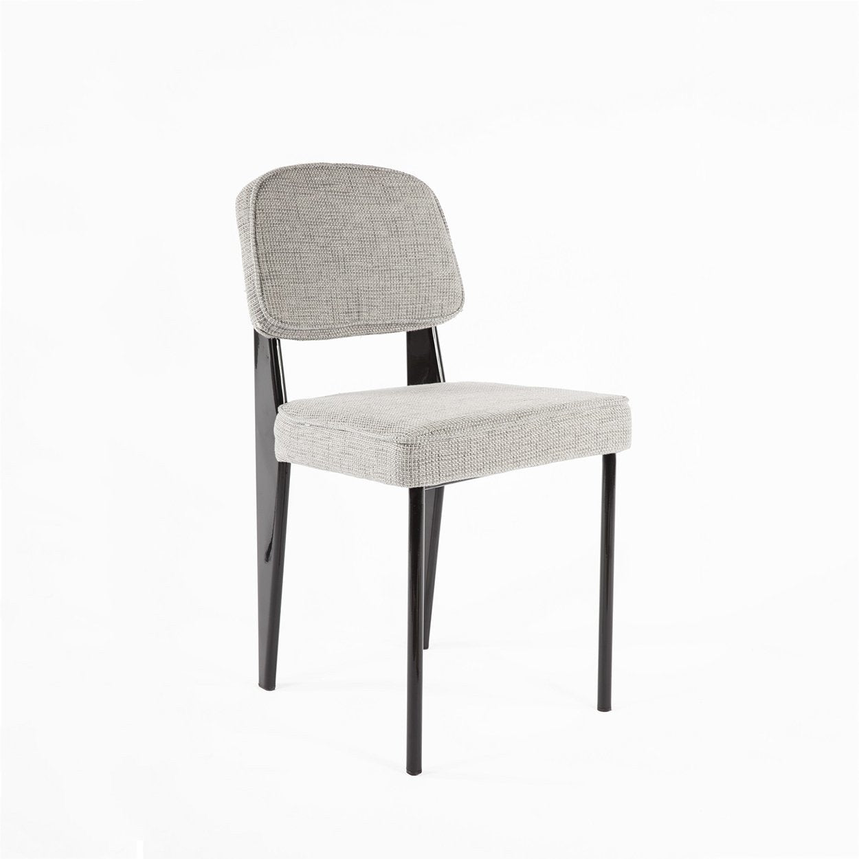 [FXC595GREY] The Schoolhouse padded chair