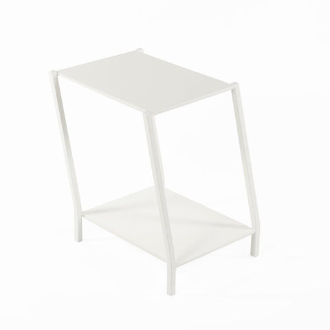 [FT6023WHT] The Wiggle End Table