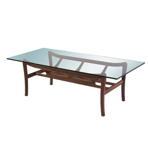 [FET6006WALNUT] The Viking Coffee Table