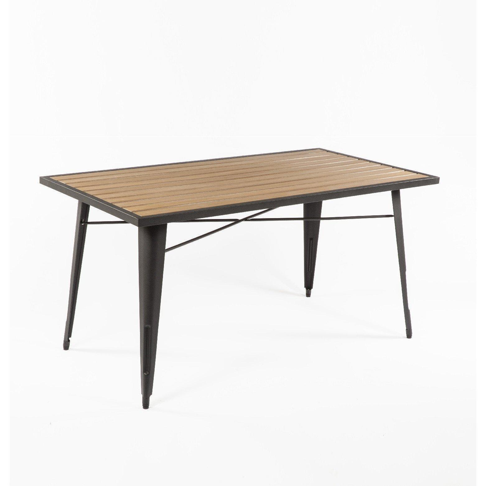 [FKT002NATURAL] The Good Form French Outdoor Table SALE