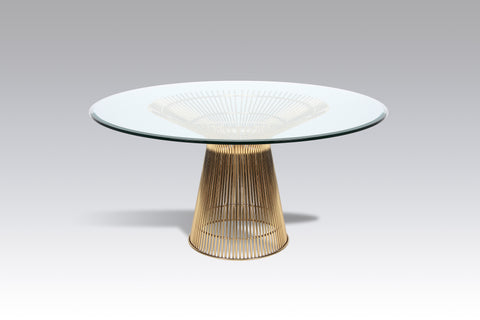 [FB9689GLSGOLD] The Fishburne Dining Table