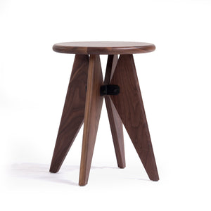 [FEB4108WALNUT] Launceton Stool