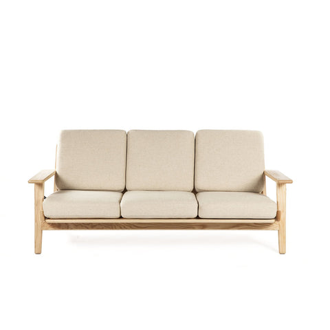 [FEC0619BGE3NAT] The Klum Sofa