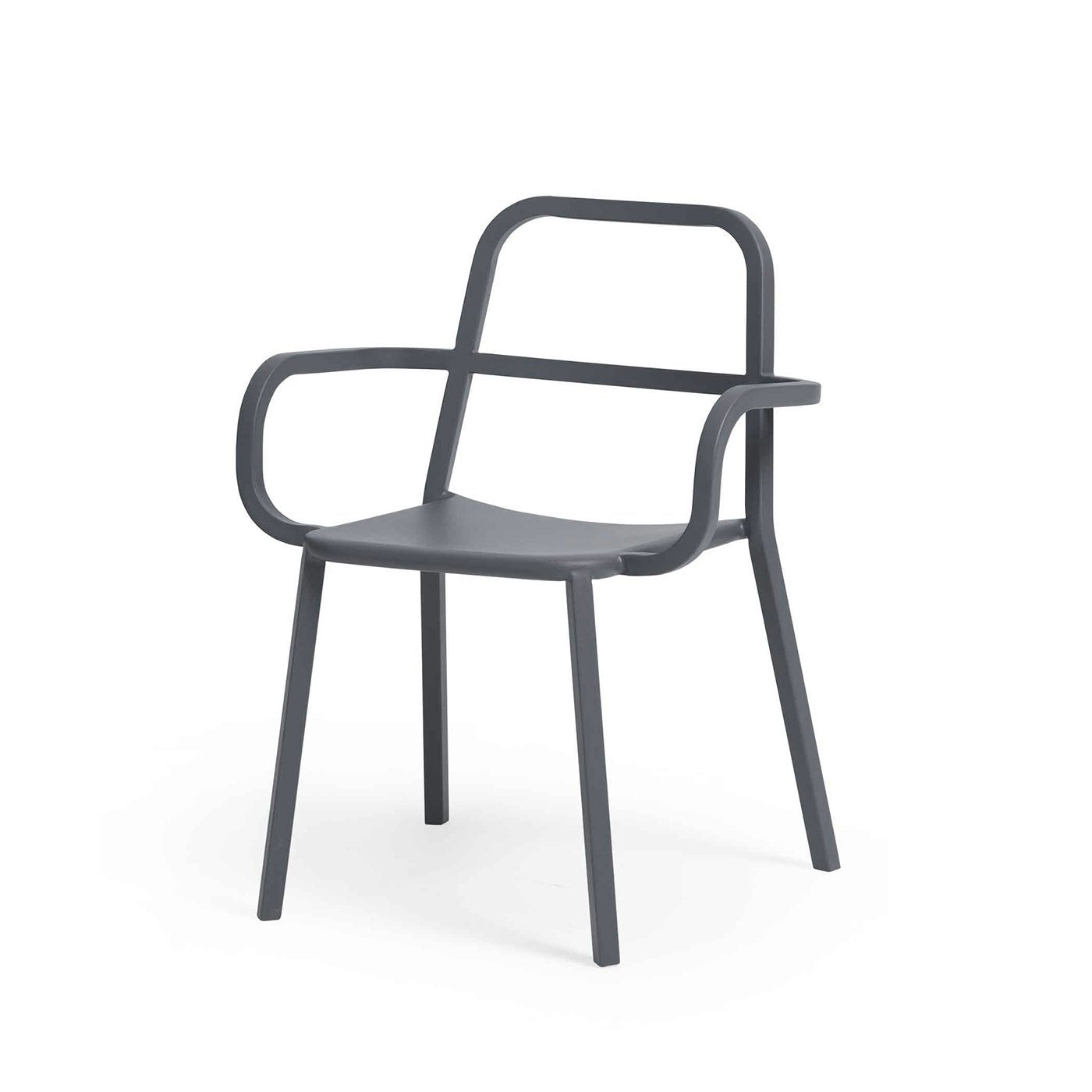 [FEC4606DGREYB] Cosima Dining Chair