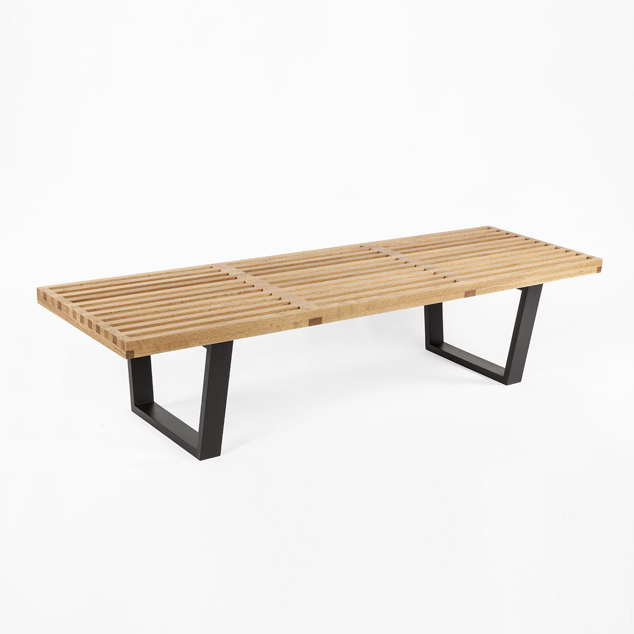 [FEC500360OAK] The Kolding Slat Bench SALE