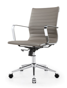 [FKC9017LGREY] Darren Office Chair