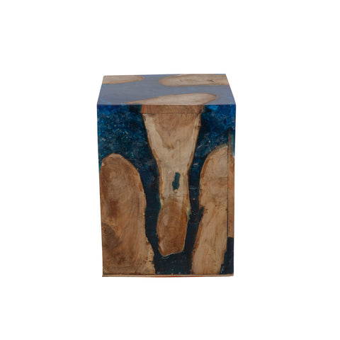 [FL1110BLUE] Banjar Stool/End Table