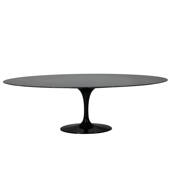 [FST51696BLK] The Marble Tulip Dining Table 96