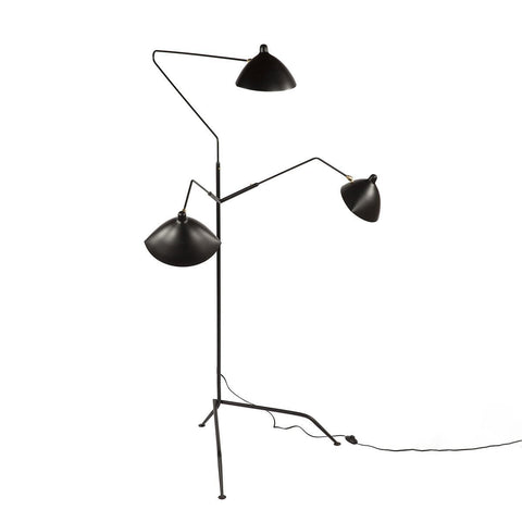 [LBF023BLK] The Holstebro Floor Lamp
