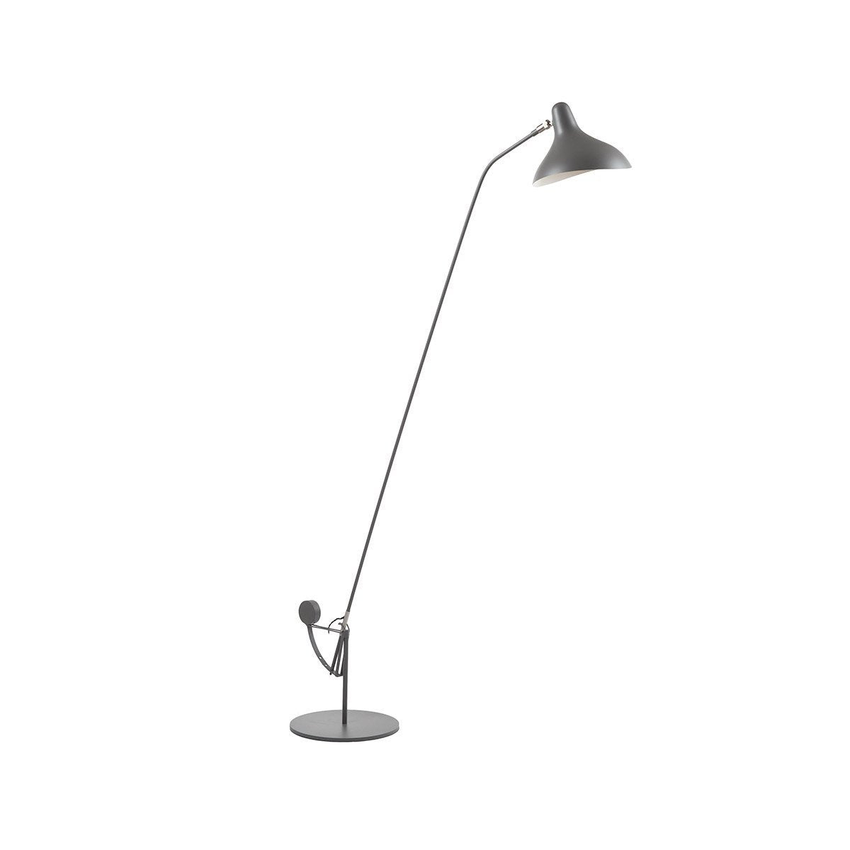 [LBF053ADGREY] Bendt grey floor lamp SALE