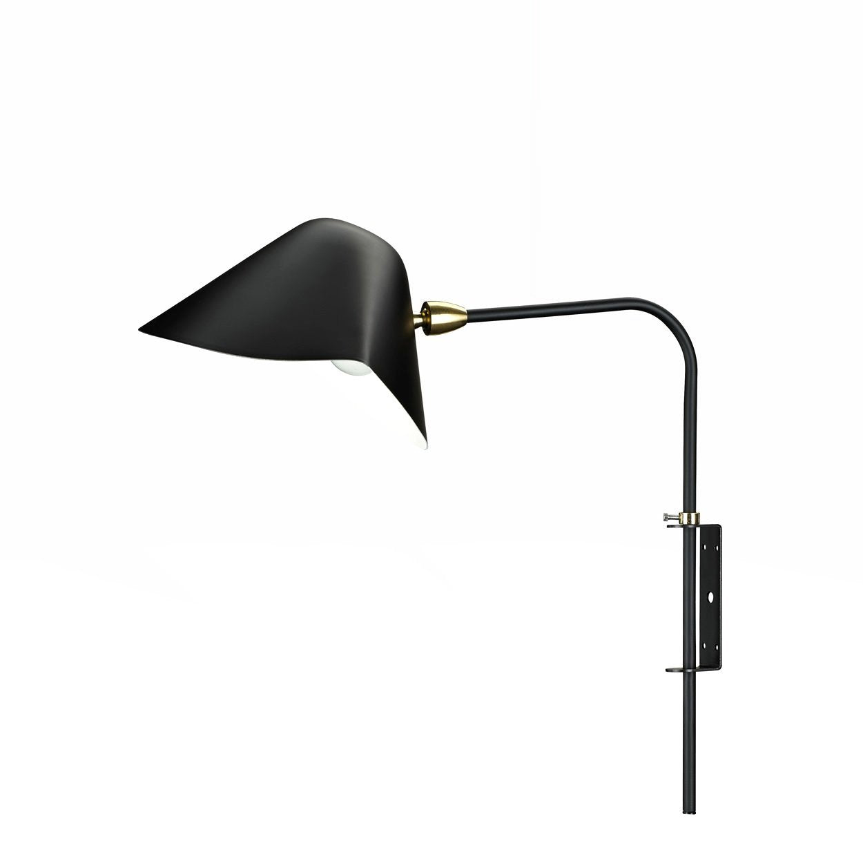 [LBW059BLK] Enok black wall sconce