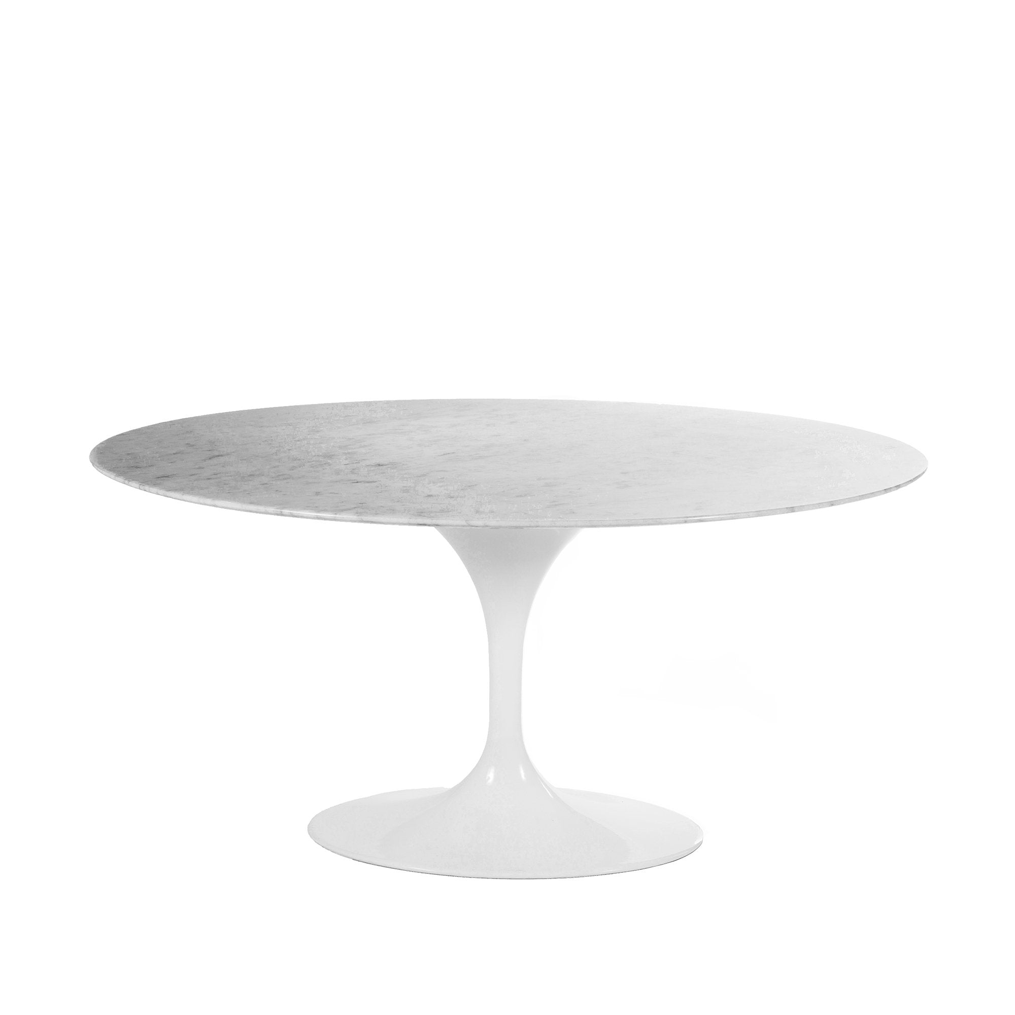[RT335V6042WHT] The Marble Tulip Dining Table 60