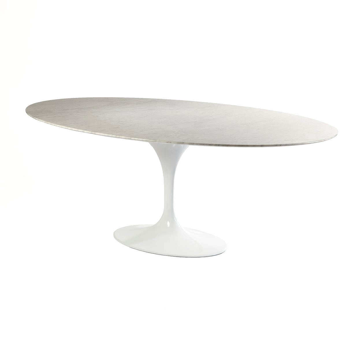 [RT335V70WHT] The Marble Tulip Dining Table 70