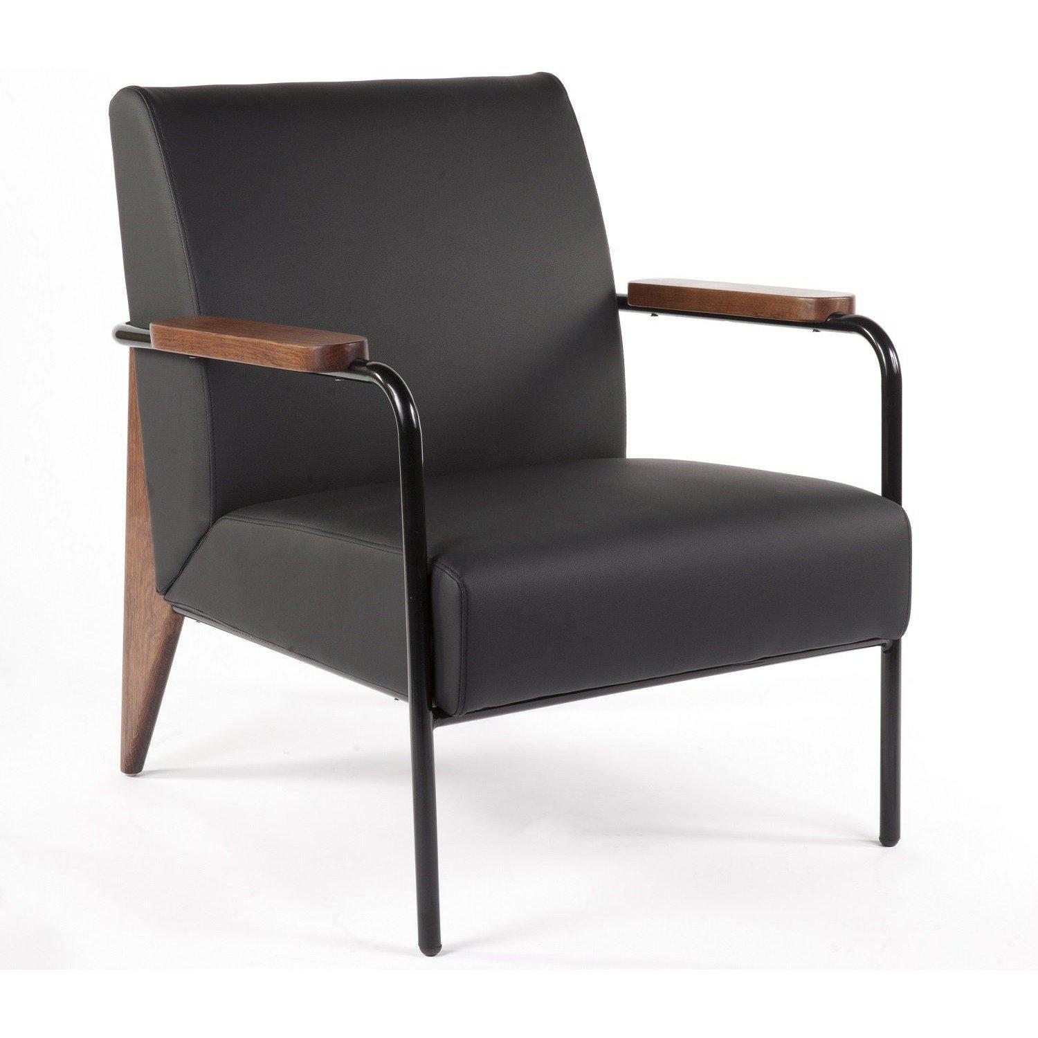 [FX88601BLK] The Linz Arm Chair