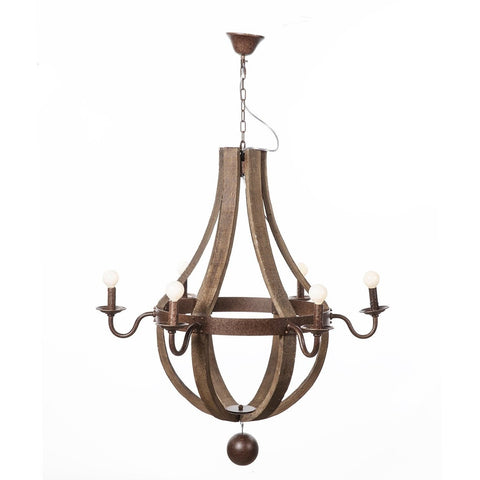 [LU828WOOD] Hvitsen Chandelier SALE