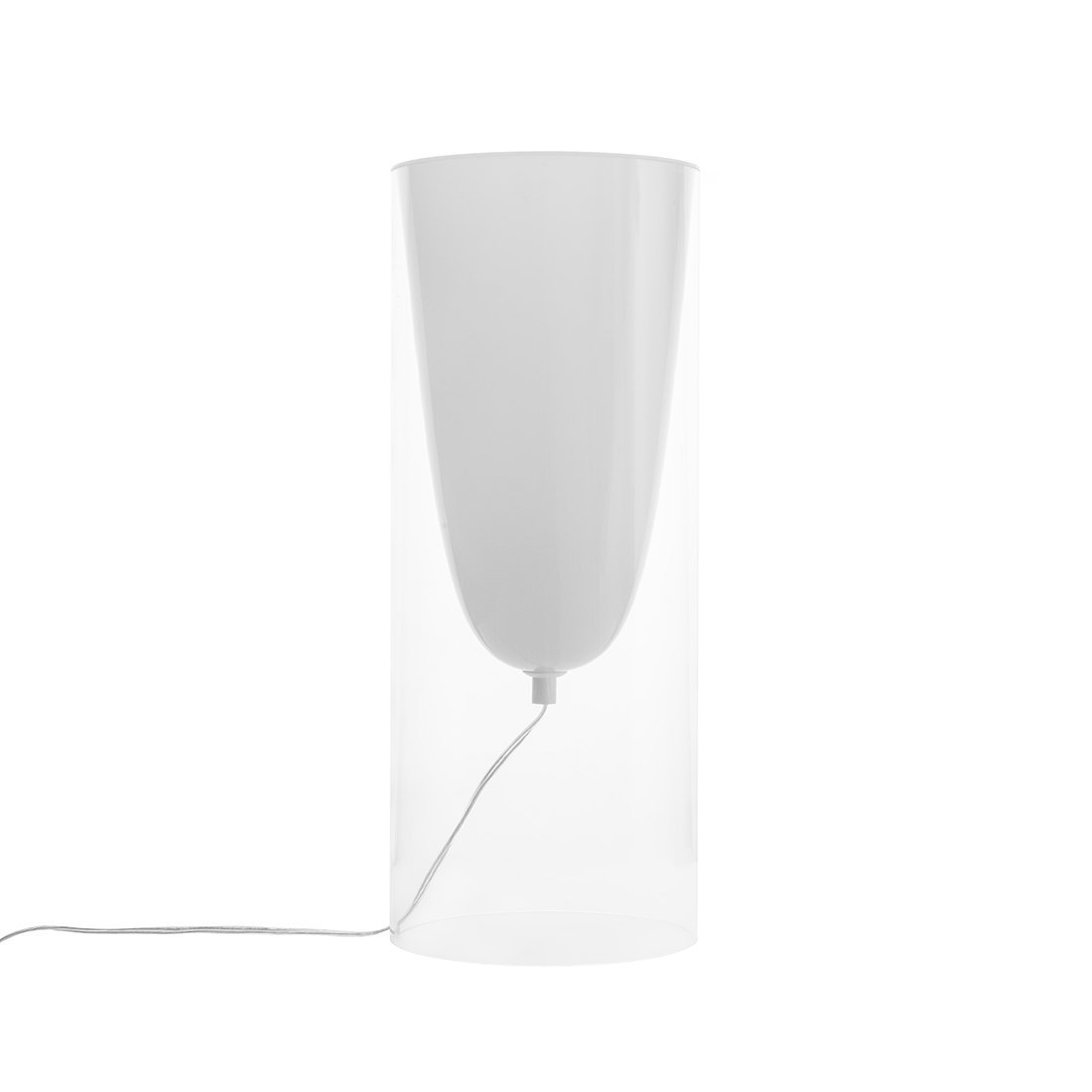 [LS2279TCLEAR] Candela Table Lamp