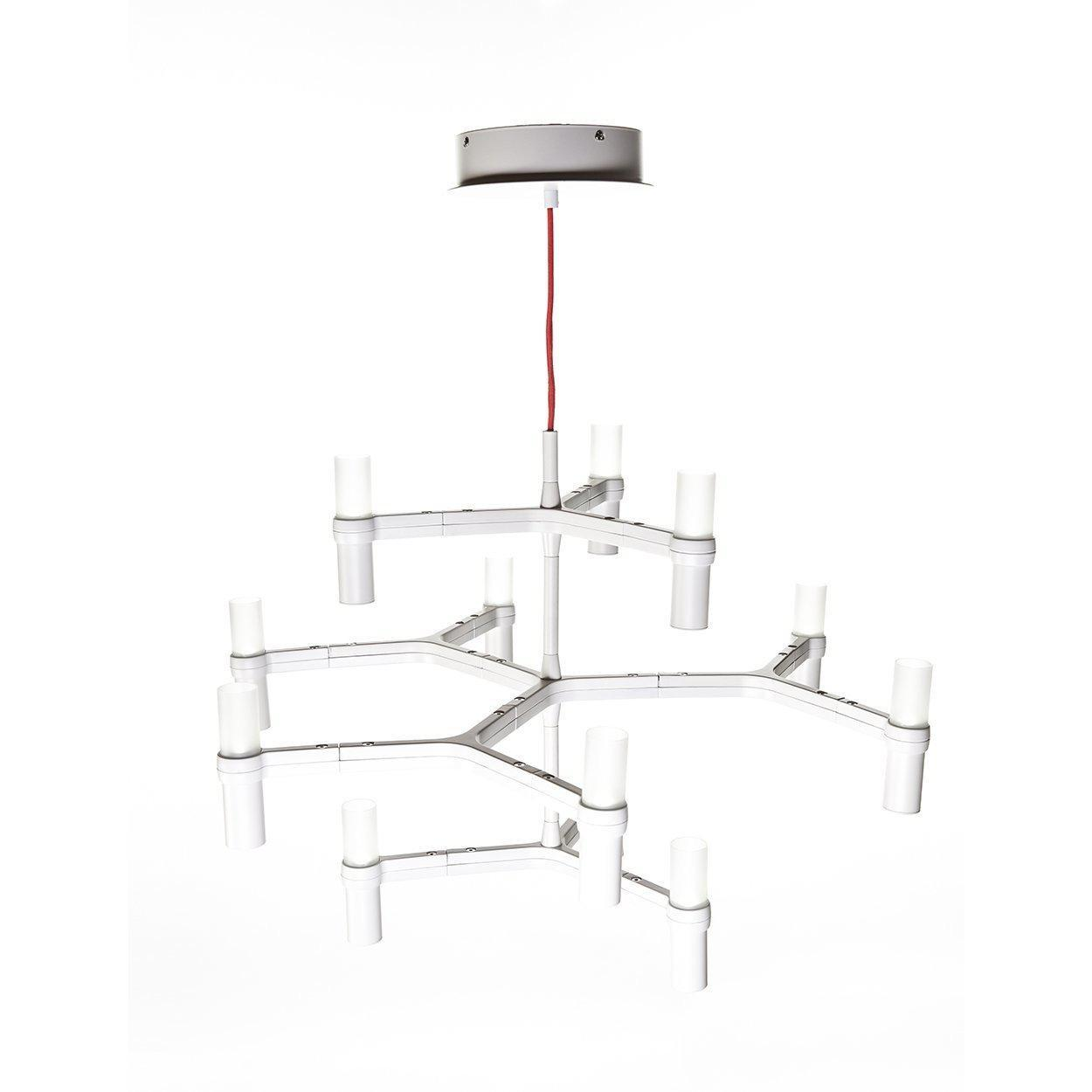 [LM35012PWHT] The Shannon Modern Chandelier