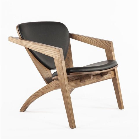 [FEC0059BLK51] The Olle Lounge Chair