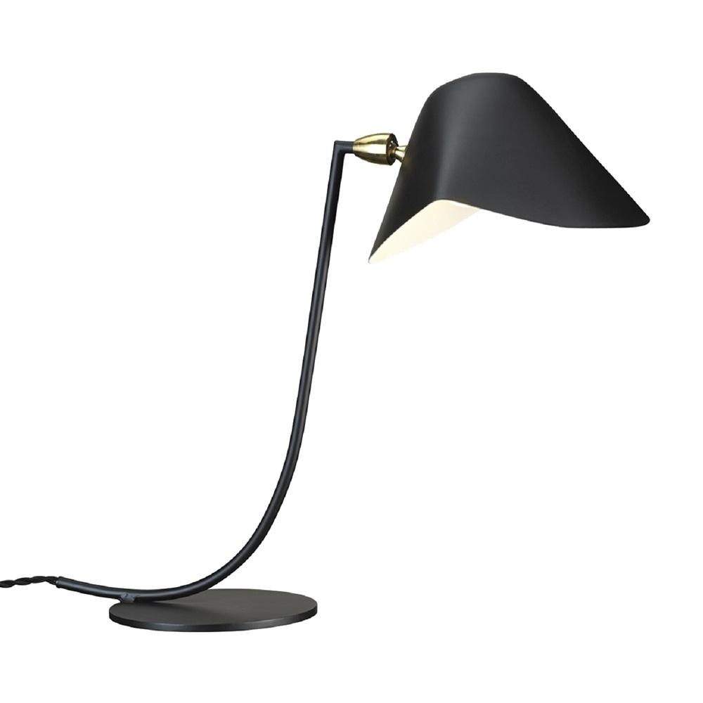 [LBT058BLK] Ditte black table lamp
