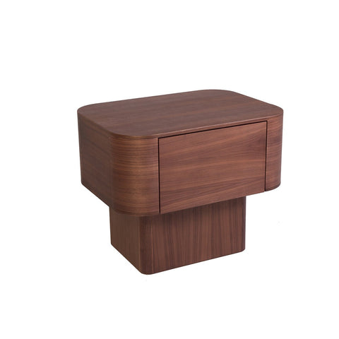 [FES8125WALNUT] Sean Dix Streamline Nightstand