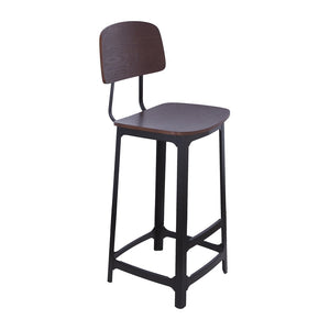 [FRC068WALNUT] The Garrison Bar Stool Sale