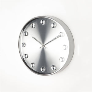 [G131012SILVER] Mid Century Motala Clock SALE