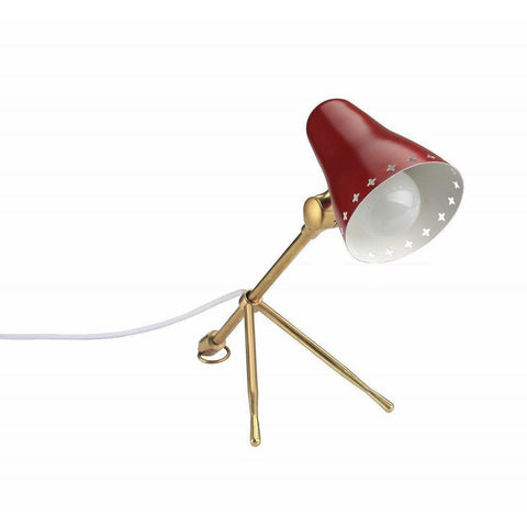 [LBT048RED] The Arla Table lamp SALE