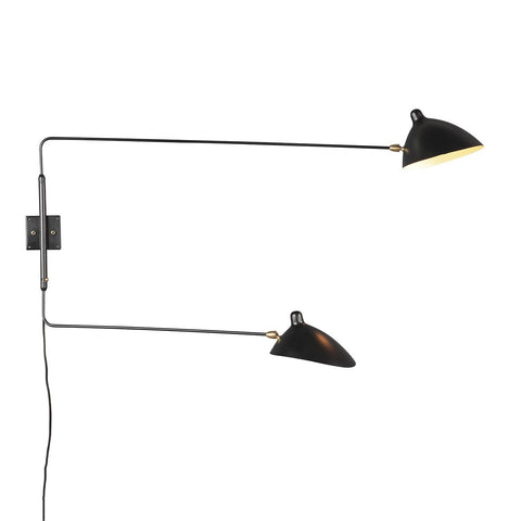 [LBW031BLKD] The Kragero Wall Lamp