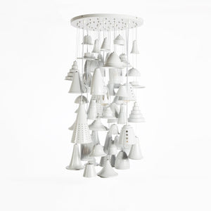 [LI1030WHT] The Assissi Chandelier SALE