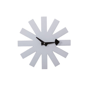 [G121021WHITE] White Asterisk clock SALE