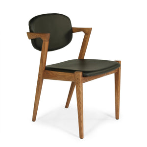 [FEC7629LBLK51] The Levanger Arm Chair
