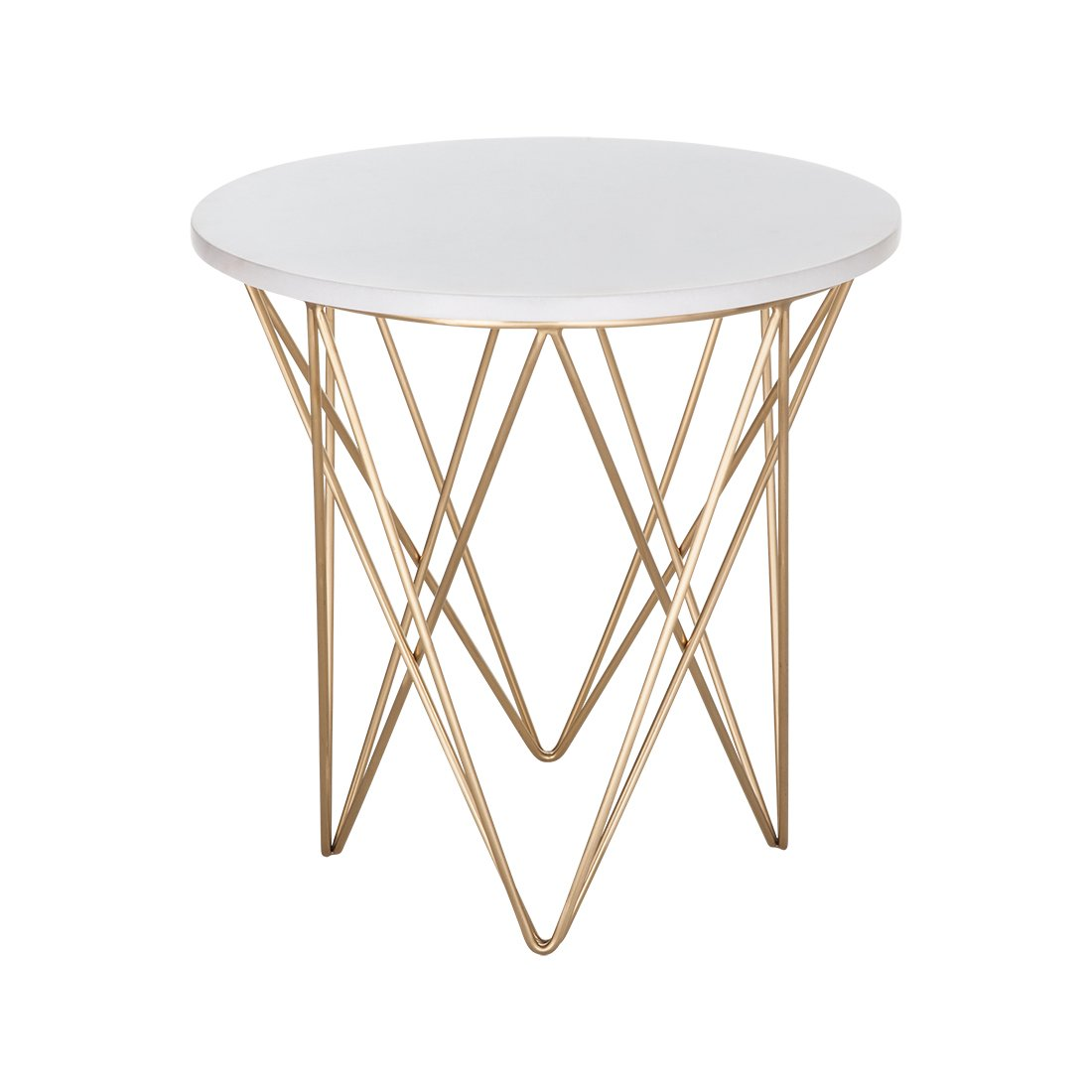 [FHT10WHT] Spotlight Side Table