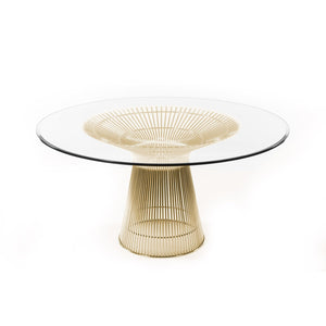 [FB9688GLSGOLD] The Fishburne Dining Table [New]