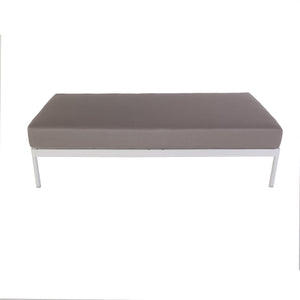 [FCC5066GREY] Dalton DOUBLE SEAT BASE MODULE SMALL W/CUSHION