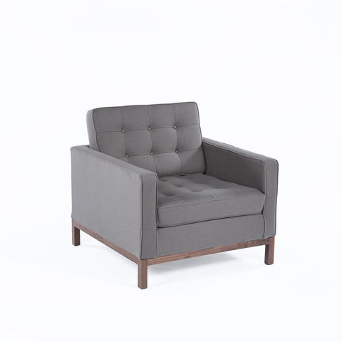 [FEC3719GREY1] The Dexter Lounge Chair SALE