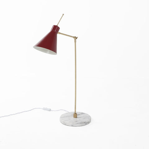 [LBT045RED] Birgsr Red table lamp Sale