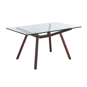 [FET7319WALNUT] Forte Dining Table
