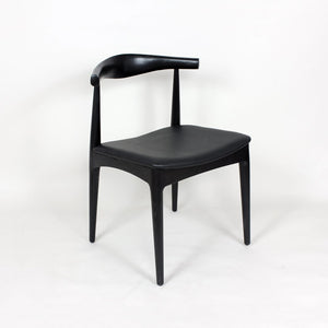 [DC593BLACK] The Kennedy Side Dining Chair