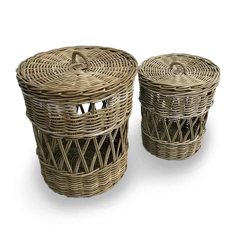 [FL1801GREY] Salib Laundry Baskets SALE