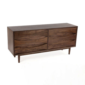 [FES7839WALNUTC] Alva 6 drawer Dresser