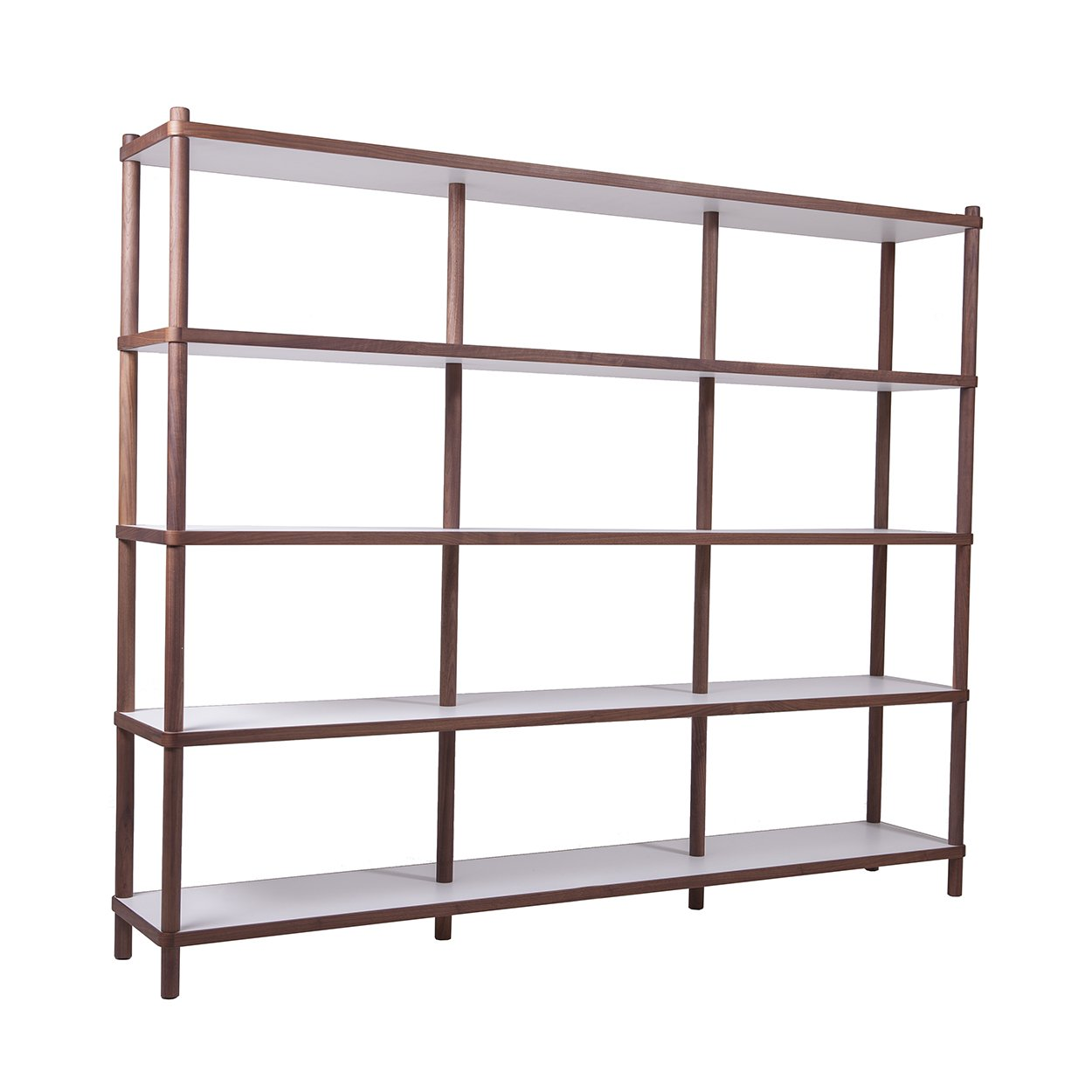 [FET0425WHITE] Sean Dix Bi-Color Shelves - Large