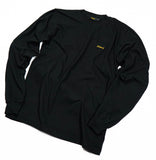 SSWG Unisex Fine Jersey Long Sleeve T-Shirt (Black)