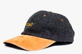 SSWG Melton Wool Cap with Suede Peal (TAN/GREY)