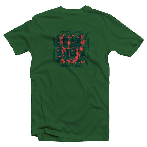 Mosaic Bottle Green T-Shirt (Limited Edition)