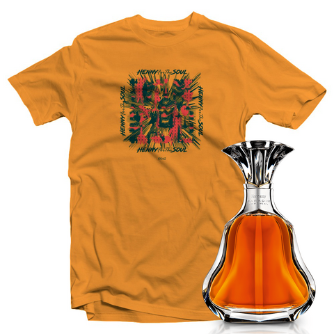 Mosaic Yellow T-Shirt + Hennessy Paradis Imperial (Limited Edition)