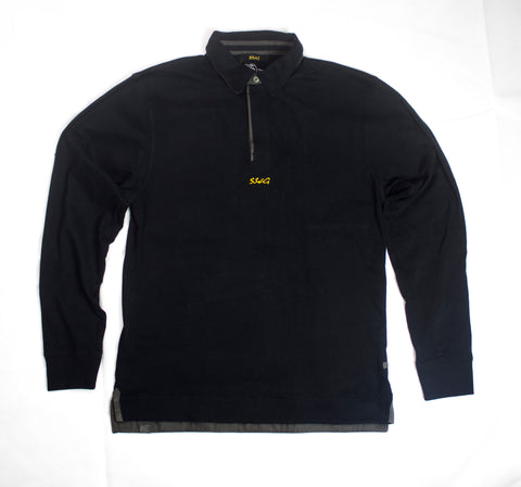 SSWG x Front Row Signature Rugby Shirt (Black)