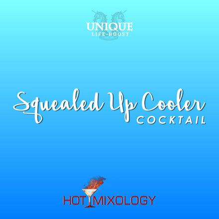 UNIQUE LIFE-BOOST x HOTMIXOLOGY // Squealed Up Cooler Cocktail